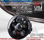 5.75 inch 90W LED Projector Headlight w/ Parking Light for Harley Davidson