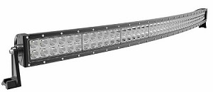 "NEW 50"" CURVED OSRAM LED 648 Watt Flood/Spot Combo Light Bar ""Free wiring Harness includes"""