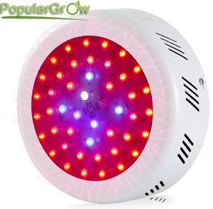 138W ROUND LED Grow Light Full Spectrum Hydroponic Plants Veg Flower Lamp Panel